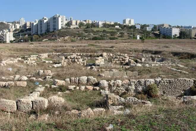 Tel Shikmona, Haifa, Israel