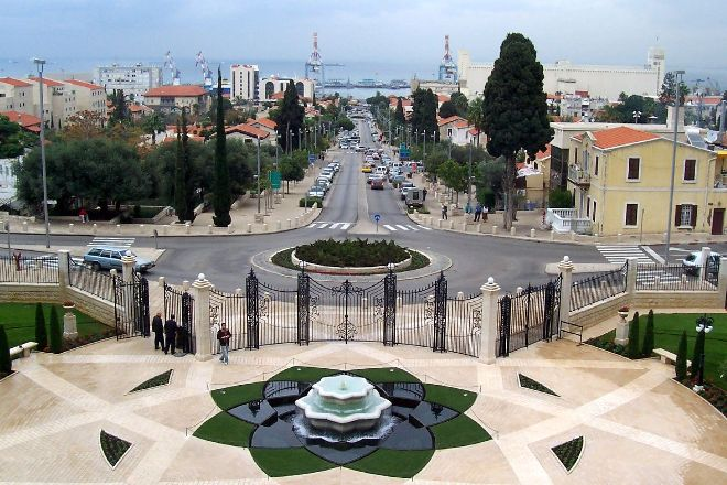 The German Colony, Haifa, Israel