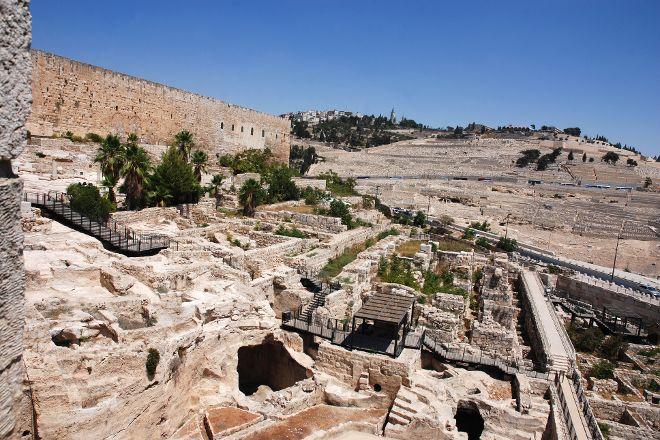 The Jerusalem Archaeological Park, Jerusalem, Israel