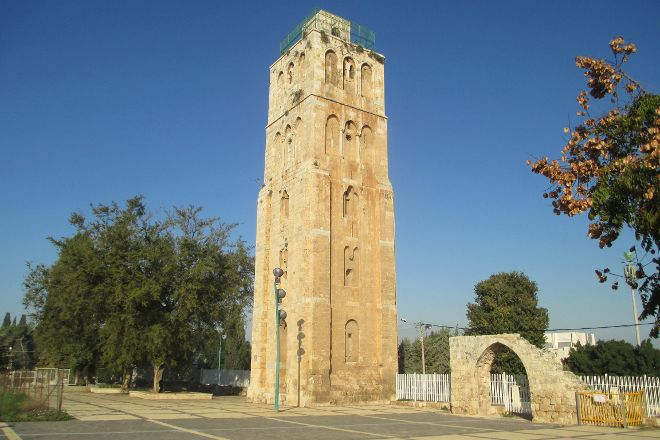 The White Tower, Ramla, Israel