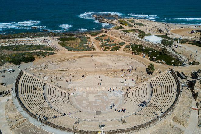 Theatre at Caesarea National Park, Caesarea, Israel