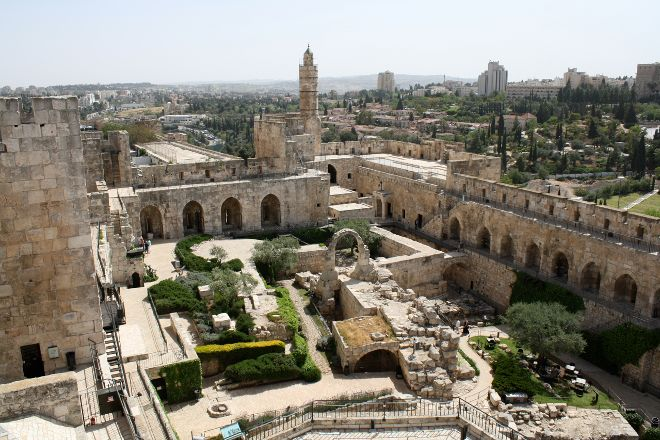 Tower of David Museum of the History of Jerusalem, Jerusalem, Israel