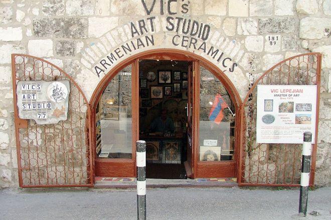 Vic's Armenian Art Studio, Jerusalem, Israel