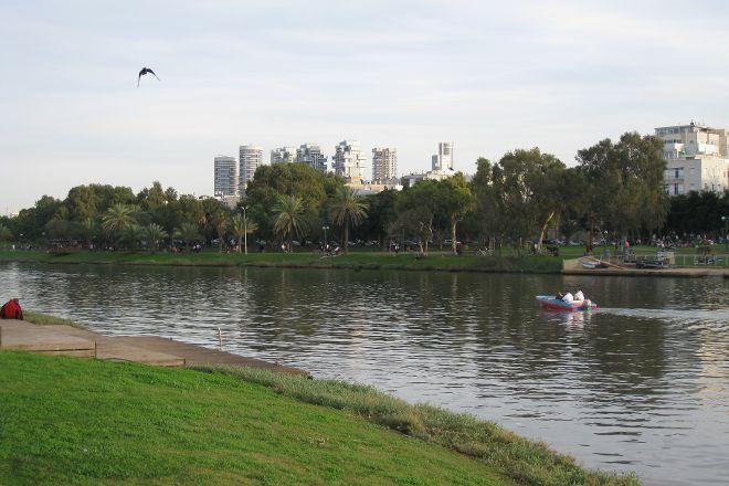Yarkon River and Park Hayarkon, Tel Aviv, Israel