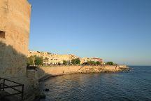 Affacci a mare: Bastioni e Lungomare, Alghero, Italy
