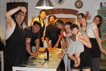 Chef Cook Ryan Hanley, Cortona, Italy