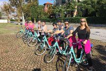 Cycling Venice Lagoon, Venice, Italy