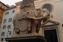 Elephant and Obelisk, Rome, Italy