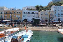 Marina Grande Public Beach, Capri, Italy