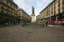 Piazza Cordusio, Milan, Italy