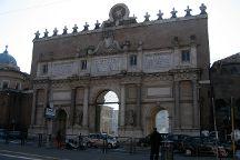 Porta del Popolo, Rome, Italy