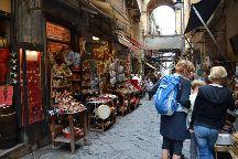 Via San Gregorio Armeno, Naples, Italy