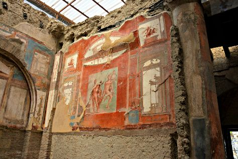 College of the Augustales, Ercolano, Italy