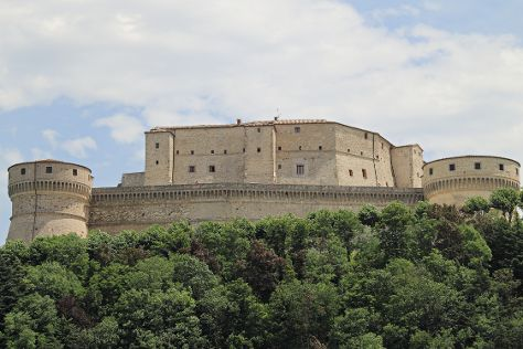 Forte di San Leo, San Leo, Italy