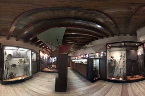 Museo Storico Italiano della Guerra, Rovereto, Italy