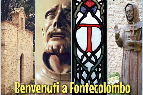 Santuario di Fonte Colombo, Rieti, Italy
