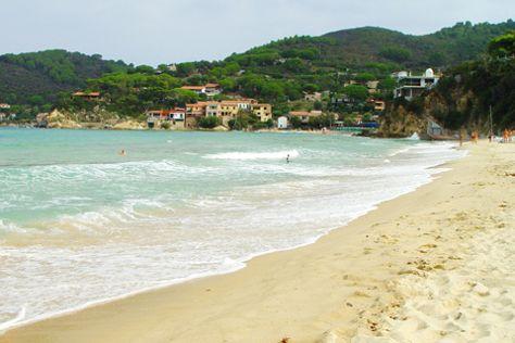 Spiaggia Della Biodola, Portoferraio, Italy