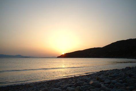 Spiaggia di Mari Pintau, Quartu Sant'Elena, Italy