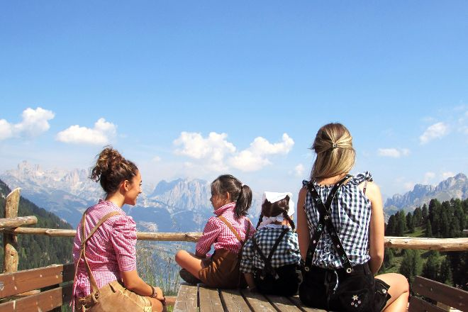 Alpe Lusia Ski Area, Moena, Italy
