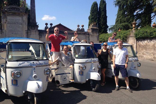 Ape Roma Tour - Day Tours, Rome, Italy