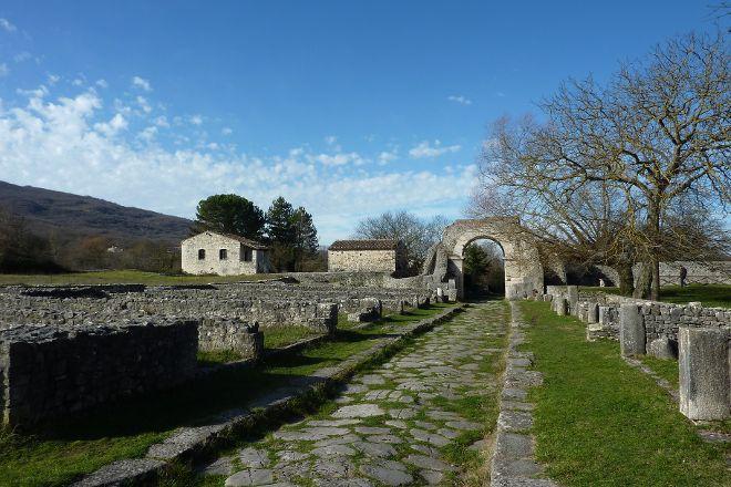 Door Terravecchia - Excavations of Saepinum at Altilia, Sepino, Italy