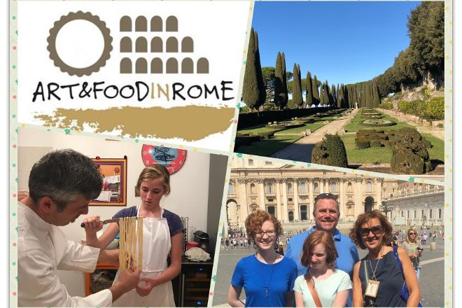 Art and Food in Rome, Rome, Italy