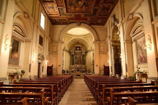 Basilica San Sebastiano Fuori le Mura, Rome, Italy