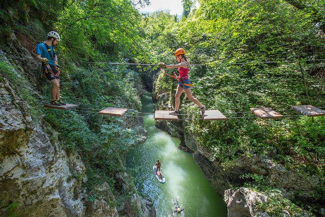 Canyon Park, Bagni di Lucca, Italy