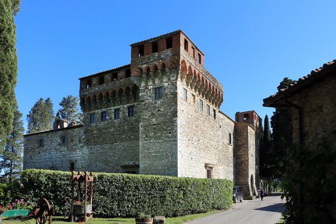Castello del Trebbio, Santa Brigida, Italy