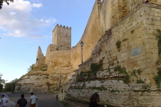 Castello di Lombardia, Enna, Italy