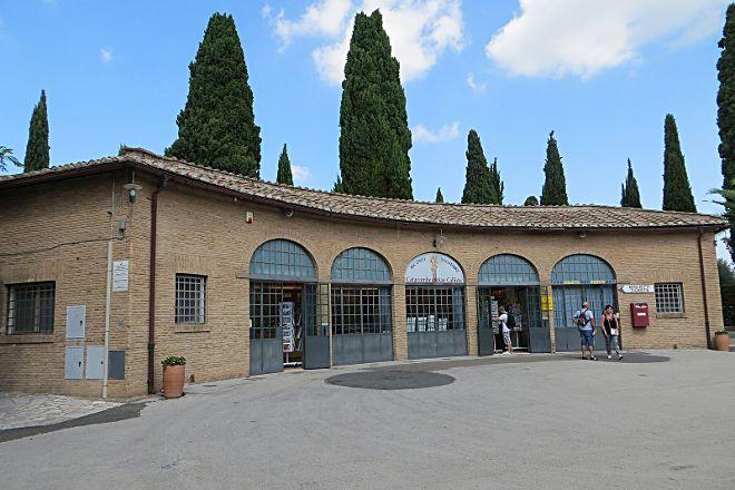 Catacombs of Saint Callixtus, Rome, Italy