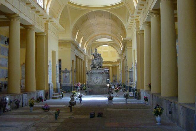 Cimitero monumentale della Certosa, Bologna, Italy