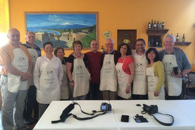 Cooking Class in Taormina With Chef Massimo, Taormina, Italy
