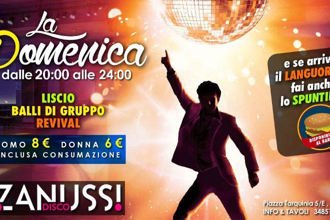 Disco Dancing Zanussi, Rome, Italy