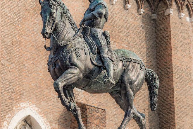 Equestrian Statue of Bartolomeo Colleoni, Venice, Italy