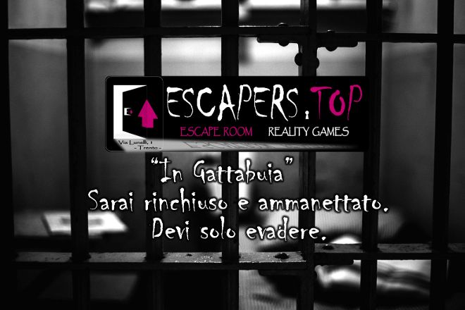 Escapers.Top Escape Room, Trento, Italy