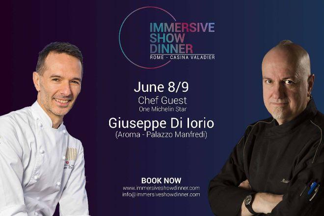 Immersive Show Dinner, Rome, Italy