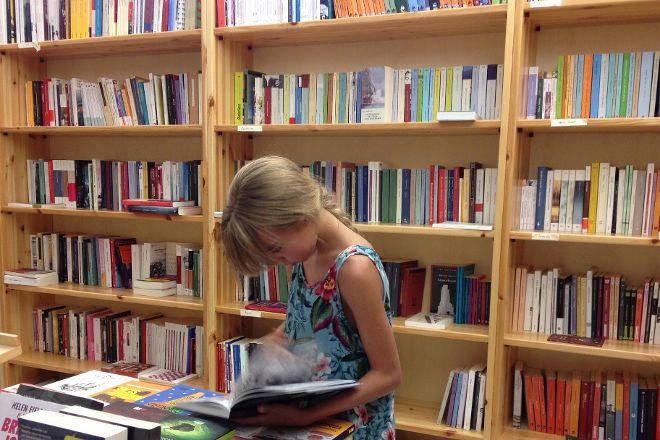 Independent Bookstore Pensiero Meridiano, Tropea, Italy