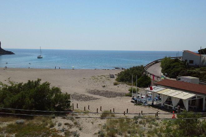 spiaggia dello Spalmatore, Carloforte, Italy