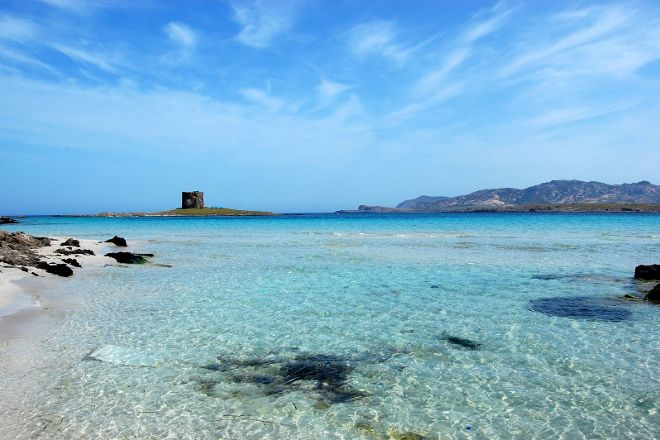 La Pelosa Beach, Stintino, Italy