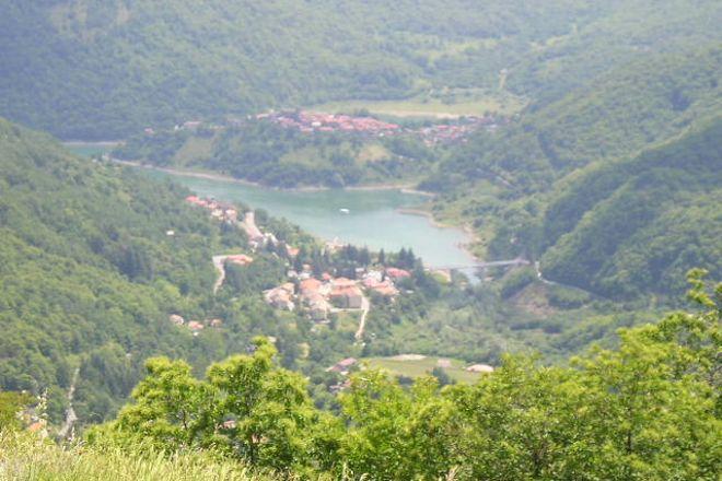 Lago Di Vagli, Vagli Sotto, Italy