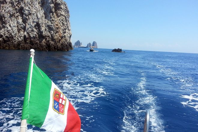 MBS Blu Charter Boat Tours, Sorrento, Italy