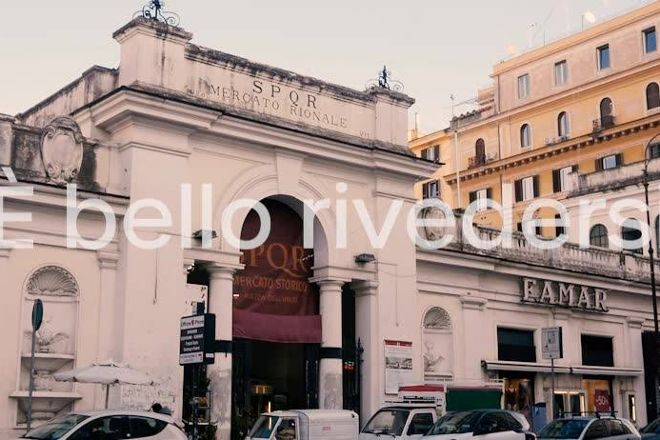 Mercato dell'Unita, Rome, Italy