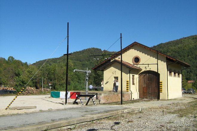 Museo Ferroviaria Della Linea  Ceva-Ormea, Nucetto, Italy