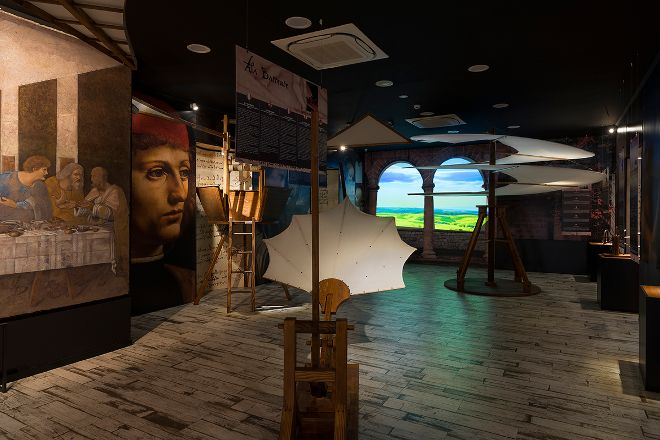 Museo Leonardo Da Vinci Experience, Rome, Italy