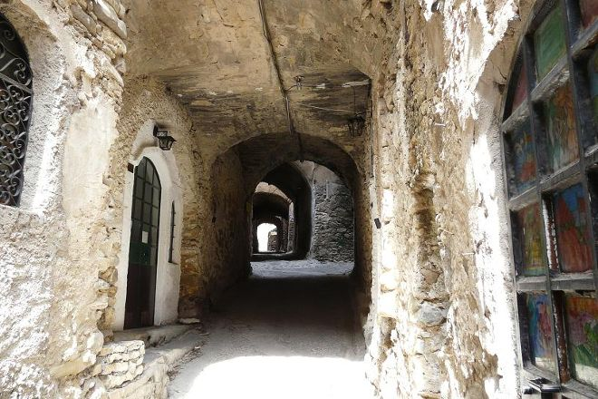 Old Bussana (Bussana Vecchia), Sanremo, Italy