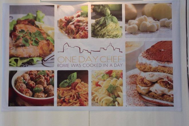 One Day Chef, Rome, Italy