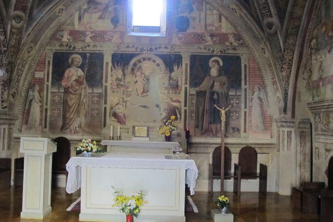 Oratorio dei Pellegrini, Assisi, Italy
