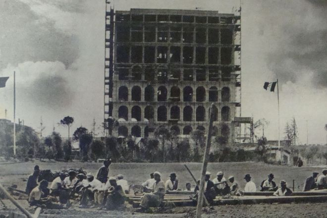 Palazzo della Civilta Italiana, Rome, Italy
