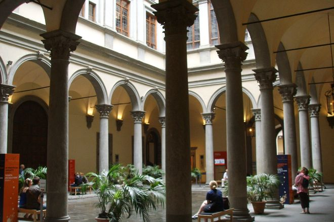 Palazzo Strozzi, Florence, Italy